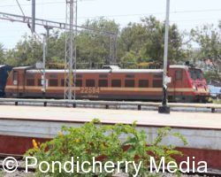 Train Timings from Pondicherry to Chennai Egmore