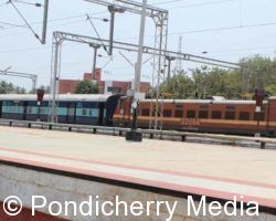 Train Timings from Pondicherry to Dadar
