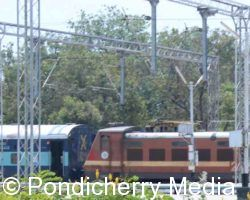 Train Timings from Pondicherry to Mangalore Via Salem