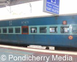 Train Timings from Pondicherry to Mangalore Via Trichy