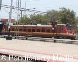 Train Timings from Pondicherry to Yesvantpur