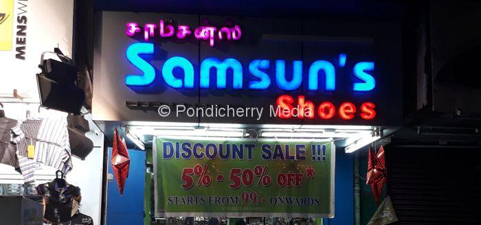 Samsun S Shoes Pondicherry Pondicherry Media