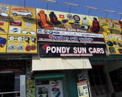 Pondy Sun Cars - Car Accessories & Car Jewellery