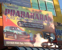 Prabakaran Auto Air Conditioning Work